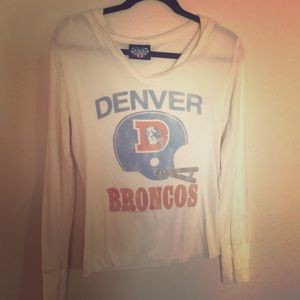 Denver Broncos hooded Shirt